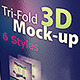 Trifold 3D Mock-up